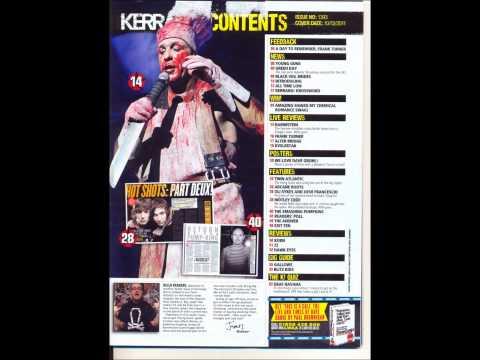 Analysis of a music magazine