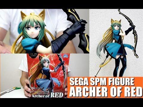 ARCHER Of RED SPM Figure Fate Apocrypha SEGA Unboxing