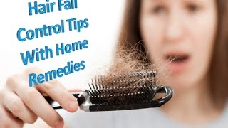 Hair Care Tips 3 - Hair Fall Control Tips | Hair Falling Home Remedies | Hair Falling Treatment Thumbnail