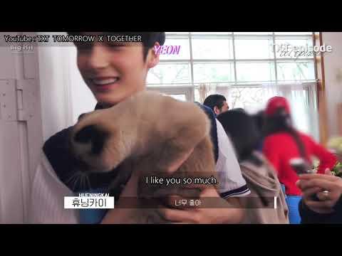 [ENG SUB] TXT [EPISODE]  'Cat & Dog' Jacket Shooting Sketch