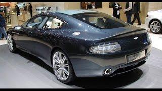 Aston Martin RAPIDE THE WORLD'S MOST BEAUTIFUL FOUR-DOOR SPORTS CAR