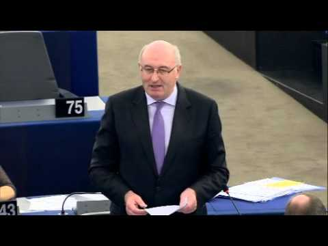 Phil Hogan on EU Farm Crisis
