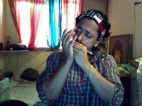 Pal-Pal Dil Ke Paas On Mouth-Organ By Rutwij Vaidya
