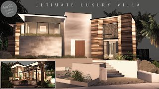 Ultimate Luxury Villa   6 Bedrooms Millionaire Mansion + Specials   No CC   Stop Motion   The Sims 4