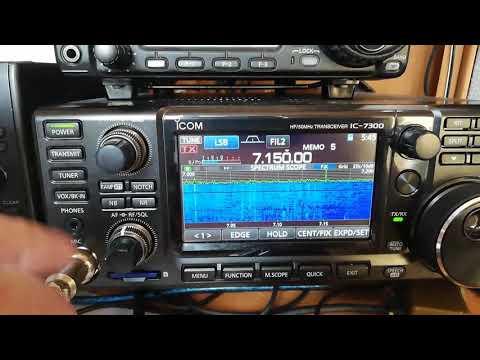 ICOM IC-7300 &