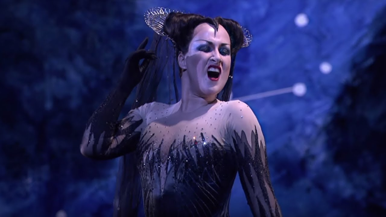 The Magic Flute - Queen of the Night aria (Mozart; Diana Damrau, The Royal Opera) #1