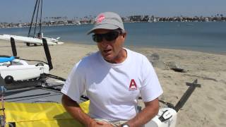 Bob Hodges walks through the benefits of the A-Class Catamaran