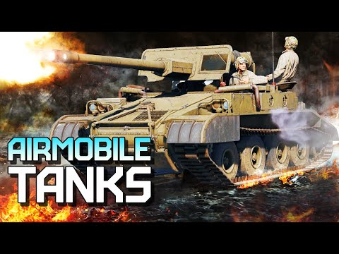 Airmobile tanks / War Thunder |