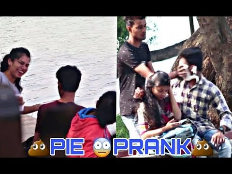 Pie Prank On Face In Mumbai | Bombay Bonnes |