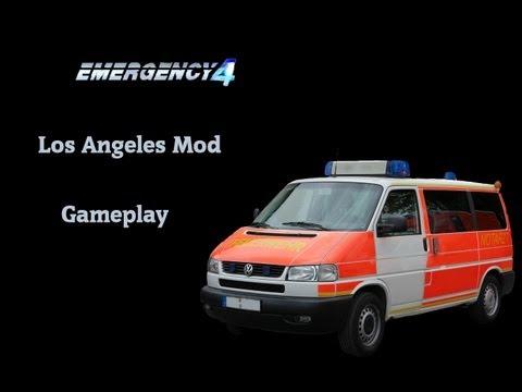 """Emergency 4 """"Los Angeles Mod"""" Gameplay"""