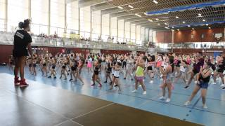 CheerUp WORLD 2015: Workshop - KIMMIE GEE (BEYONCÉ Dance Captian)
