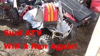 Sunl 110ST ATV,  Reviving a $2…