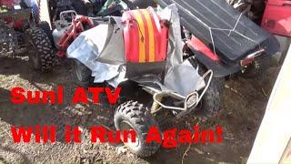 Sunl 110ST ATV,  Reviving a $2…