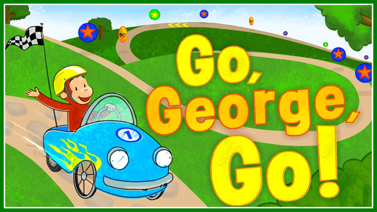 curious george go george go funny racing u0026 design video game