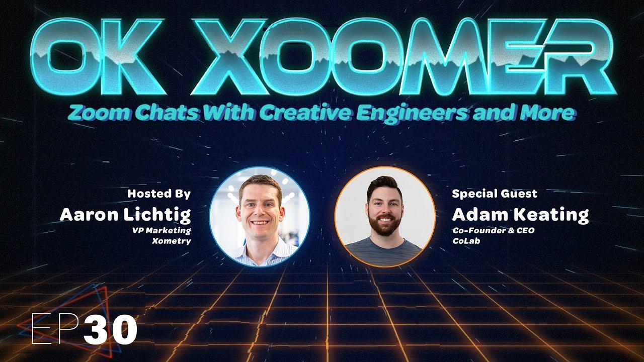 Ok Xoomer EP30   Adam Keating   Collaborative Engineering With CoLab