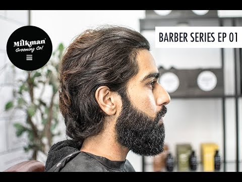 Barbering Beard Trim & Shave Series Ep 01