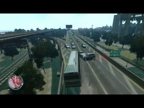 GTA IV HEAVY BUS MOD FUN+ ICEnhancer 2.0