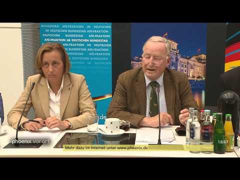 Pressekonferenz der AfD zu ihrem Konzept...