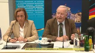 Pressekonferenz der AfD zu ihrem Konzept zur Bewältigung der Flüchtlingskrise am 19.06.18