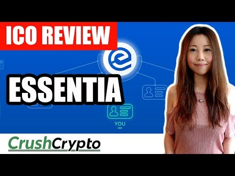 ICO Review: Essentia (ESS) - Providing Secure Ease of Use on Blockchain