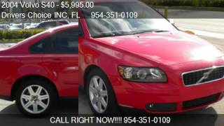 2004 Volvo S40 2004.5 2.5L AUTO Turbo W/Sunro - for sale in