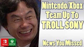 Nintendo and Xbox Ad Omits PS4, Steam Summer Sale, Pokemon GO New Raids