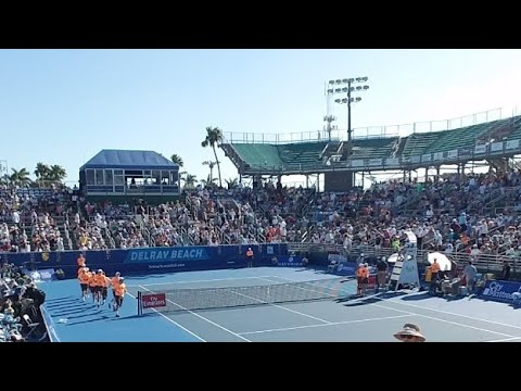 Delray Beach Open ATP World Tour Final: Frances Tiafoe (USA) vs Peter Gojowczyk (Germany)