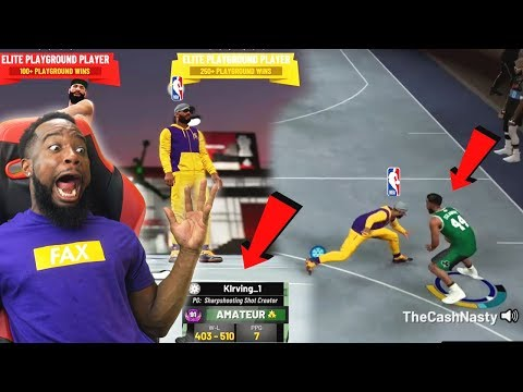 BREAKING Kyrie Irving's ANKLES With LAKERS GEAR In Park! NBA 2k19