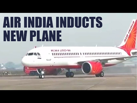 Air India inducts first Airbus 320 neo plane : Watch video | Oneindia News