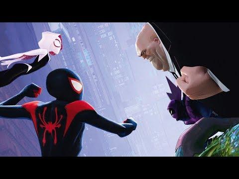 Человек-паук против Кингпина | Человек-паук: Через вселенные (2018)