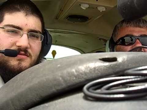 Moments before the forced landing with my Cessna 177B Cardinal