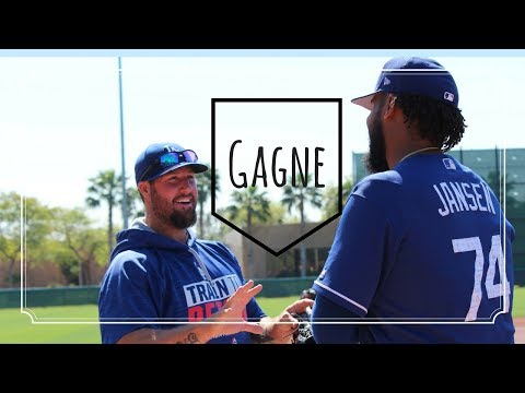 ERIC GAGNE in Dodgers Camp | Spring Training 2017