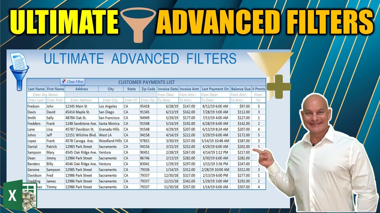 The Ultimate Excel Advanced Filters In VBA [Full Training Course]