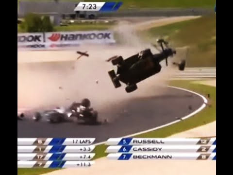 Worst Open Wheel Crashes of All Time - Formula One, Indycar, F3000 + All Single Seaters