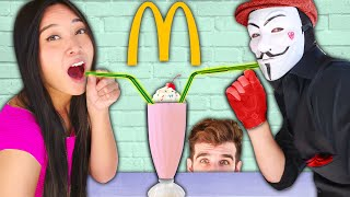 I OPENED a McDONALD'S at My HOUSE! Hacker Blind Date at Home and How to Make Funny Food Hacks!