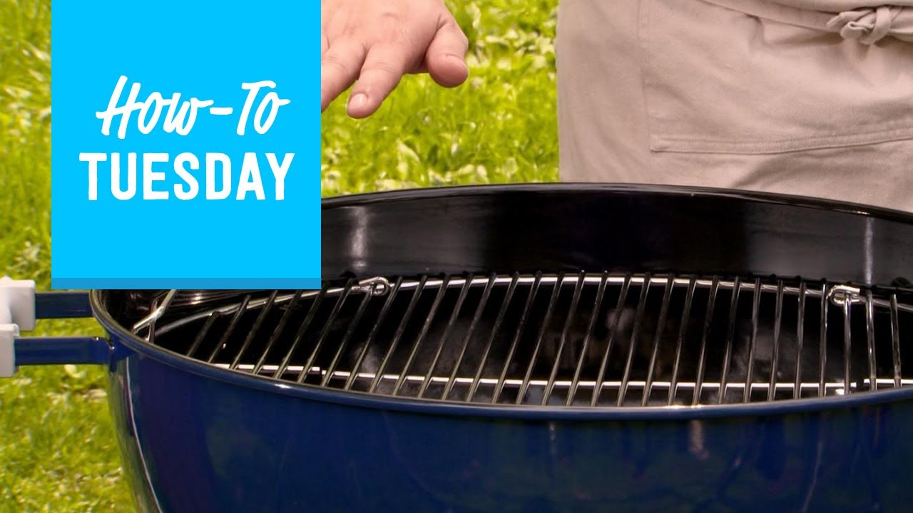 How To Set Up A Charcoal Grill Like Pro Food Network