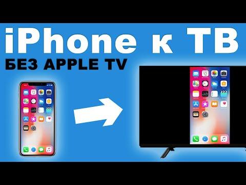 Как подключить IPhone/iPad к телевизору? БЕЗ Apple TV