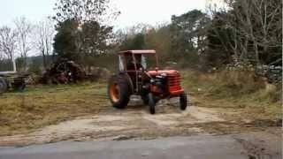 Tracteur Racing Moteur volvo  2012 عاجل أسرع جرار في العالم