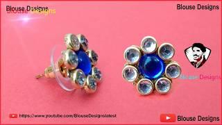 b9cf380a3 How to make studs earrings, Diy stud earrings, jewelry making