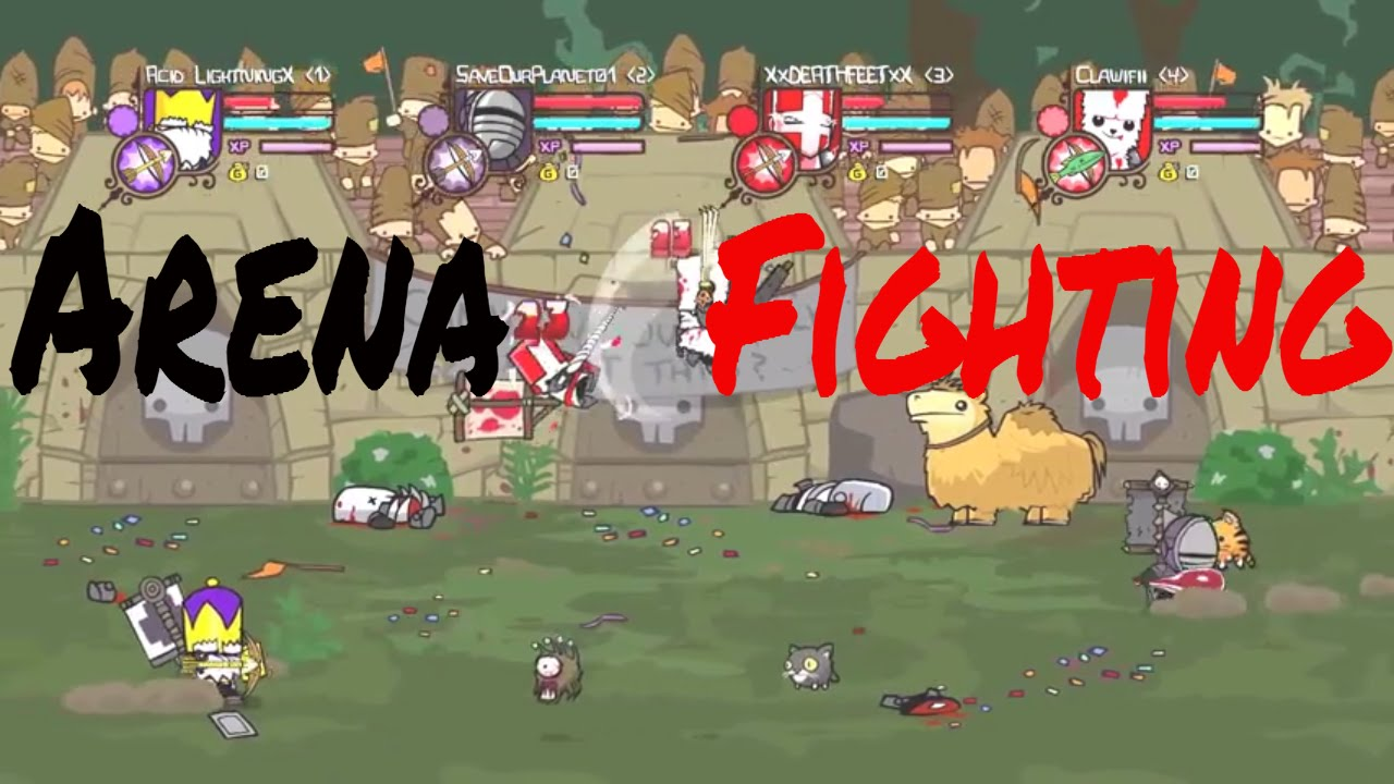 Castle Crashers Remastered Arena How To Juggle Youtube