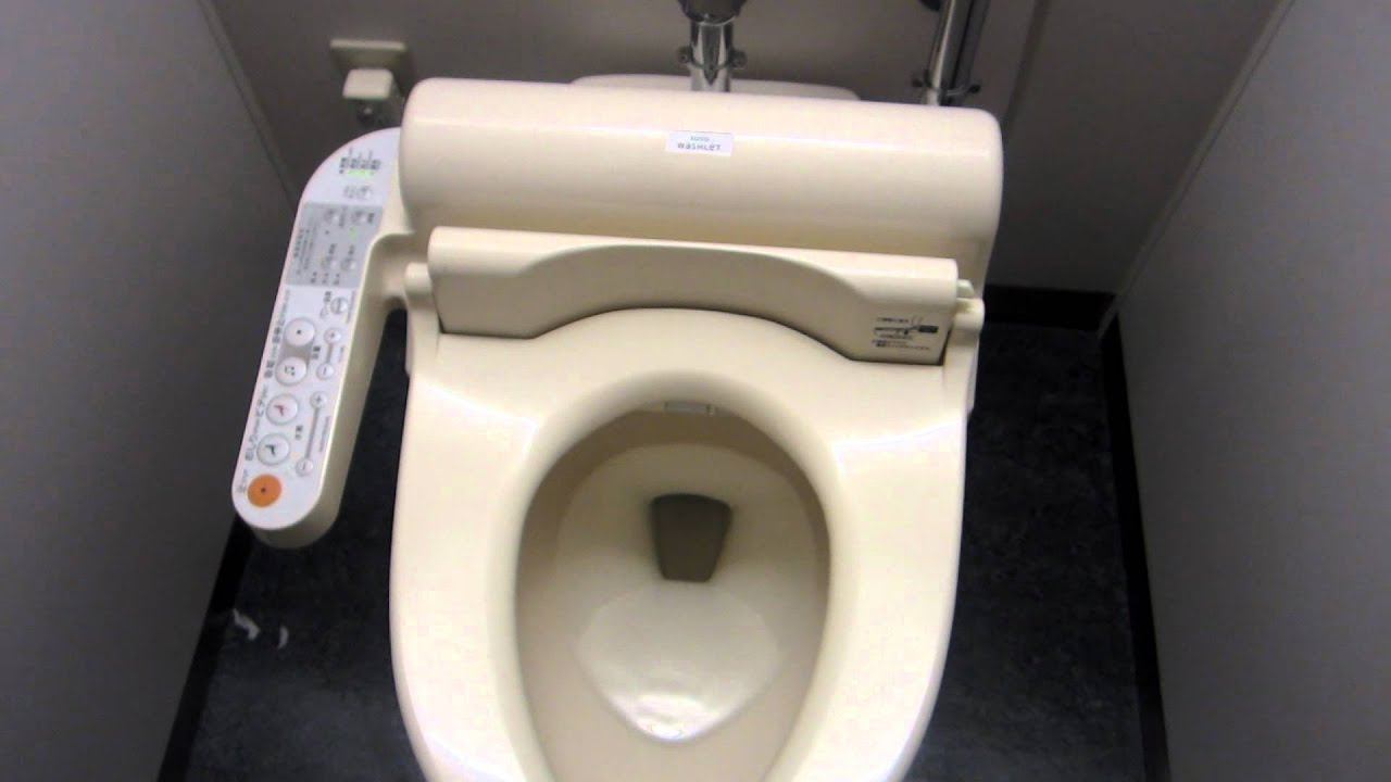Japanese Singing Toilets - YouTube