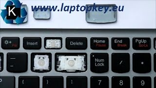 Instalation Guide how to install fix repair key in keyboard LENOVO G500 G510 S500 Z510