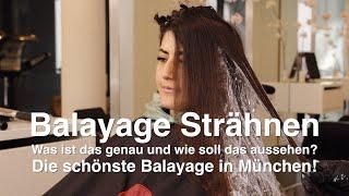 Balayage Strähnen – Was ist das genau und wie soll das aussehen? Die schönste Balayage in München!