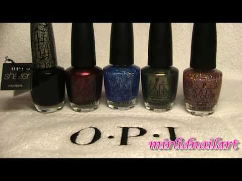 OPI - Katy Perry collection - Haul video
