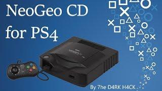 Tutorial for 7he D4RK H4CK's NeoGeo CD for PS4