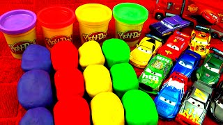 play doh surprise eggs cars 2 peppa pig super mario disney princess toy story angry birds fluffyjet