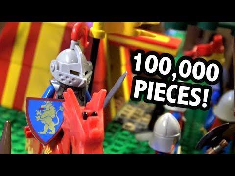 Amazing LEGO Castle With Full Interior (2019 UPDATE)