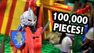 Amazing LEGO Castle with Full Interior (UPDATED VERSION)