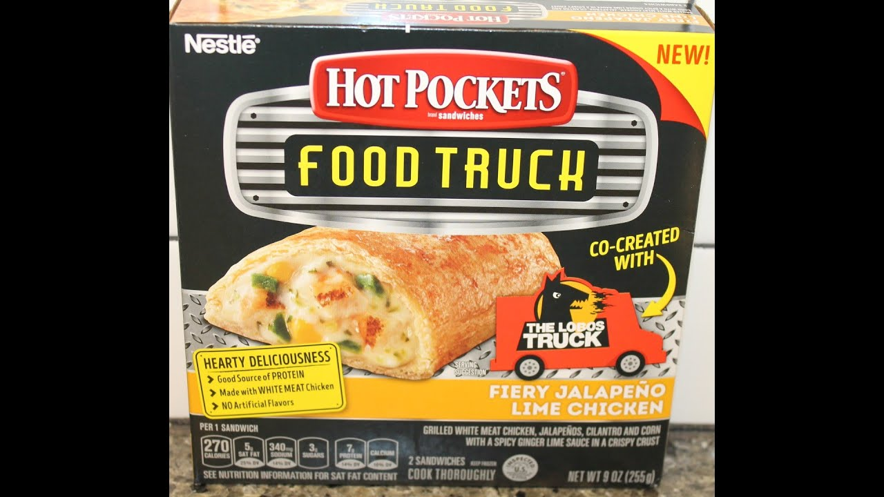 Hot Pockets Food Truck Review