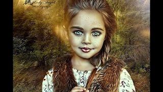 Урок Девочка сказка.фотоарт
